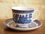 イギリス製ブルー&ホワイト C&S